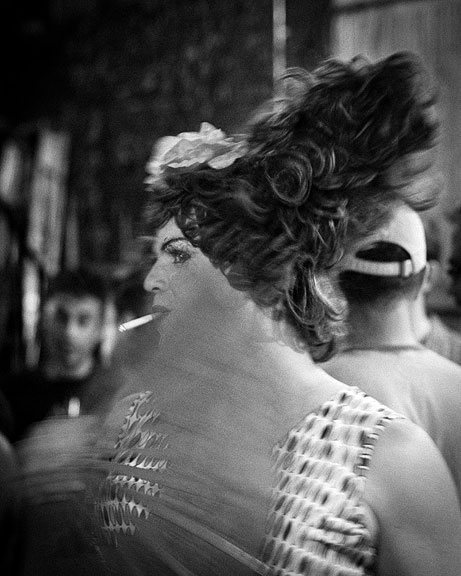 Smoking Drag Queen by Stephen Harris