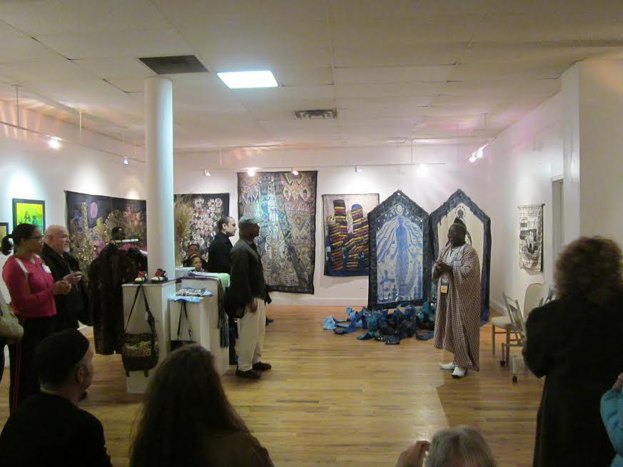 Nigerian Artist Tunde Odunlade discusses his batiks