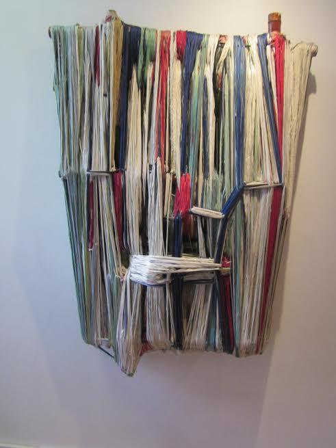 Weaving by Ruben Marroquin