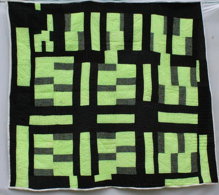 Quilt by Mary Lee Bedford, Gees Bend Quilter