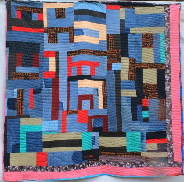 Quilt by Lorretta Pettway Bennett, Gees Bend Quilter