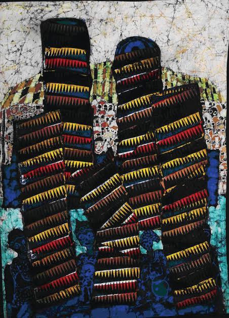 Batik by Tunde Odunlade