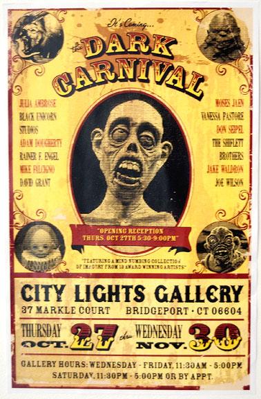 City Lights Bridgeport Ct Dark Carnivalcity Lights