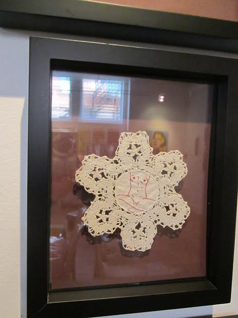 Doily by Ellen Schinderman