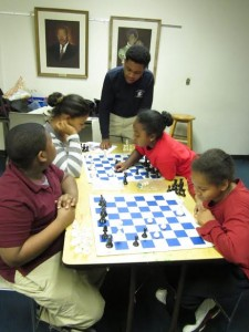 Learning and playing chess