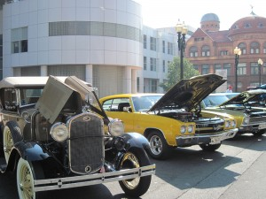 Free Classic and Custom Car Show on McLevy Green