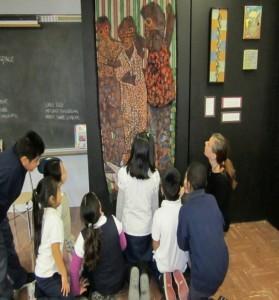 Art Exhibits in the schools