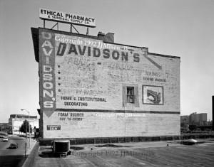Davidson's South Wall 1992