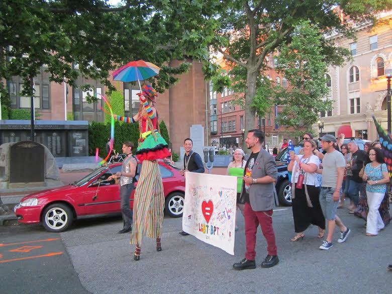 Parade in Downtown Bridgeport 2014