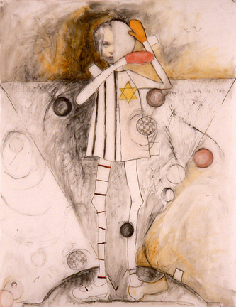 Girl with a Star