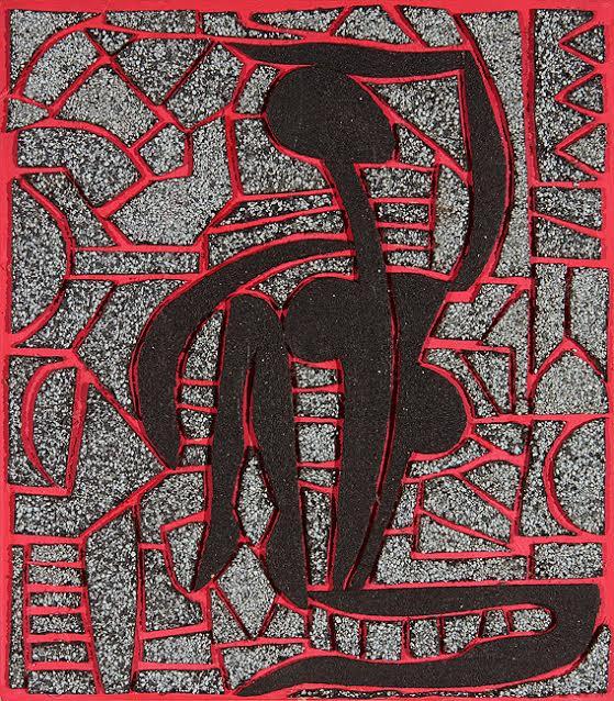 """""""Black Nude 6"""" by Iyaba Ibo Mandingo"""