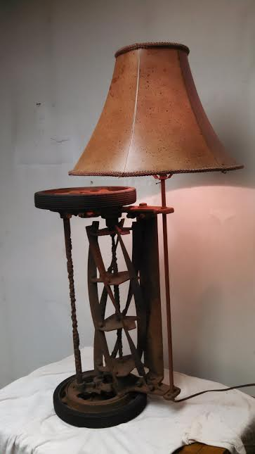 Steampunk Lamp by Dave Rosenberg