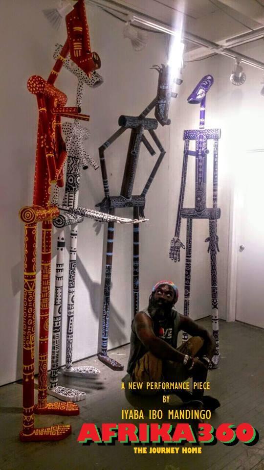 AFRIKA 360 Iyaba Ibo Mandingo Performance & Installation