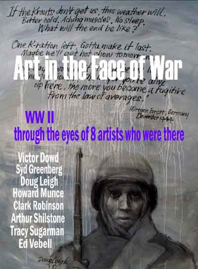 Art in the Face of War - Show announcement